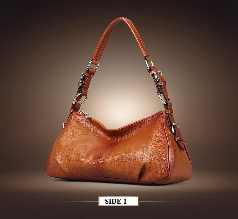 Ladies Handbags 2016 New Womens Bags And Purses Solid Women Leather Shell Bag Bags Zipper Retro Designer Handbags High Quality_036