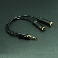 Hifi 3,5mm kopfhörer 1 bis 2 audio verlängerungskabel mit japan original canare l-2b2at high-fidelity-audio signal linie 100% ofc