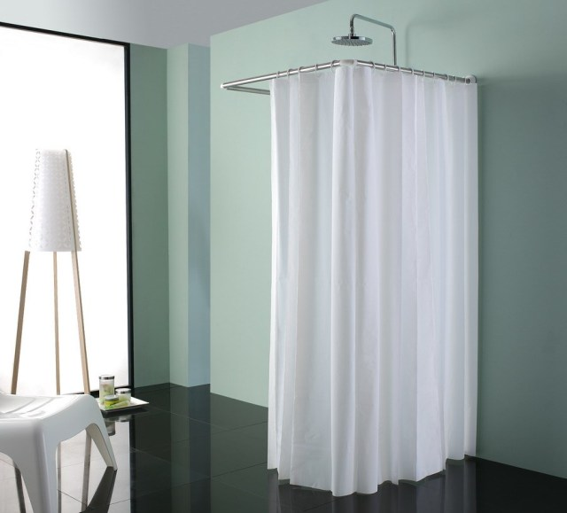 Simple Shower Room Curtain Rod Ing Set 962017