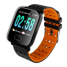 A6 Smart Watch Sleep HR Blood Pressure Oxygen Monitor IP67 Waterproof Camera Sport Watch for Android iOS