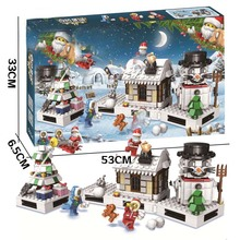 551pcs Girl Series Cinderellas Christmas Hut Blocks Educational Brick Toy Figures Compatible With Legoingly