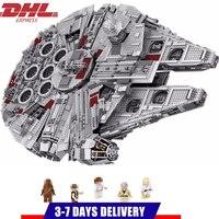 Золотой век «Звездных Войн» Сокол строительные блоки StarWars наборы кирпичи классическая модель детские игрушки Marvel совместимые Legoings