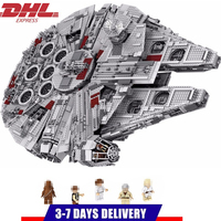 LELE Star Wars Millennium Falcon STARWARS Building Blocks Sets Bricks Classic Model Kids Toys Marvel Compatible Legoings
