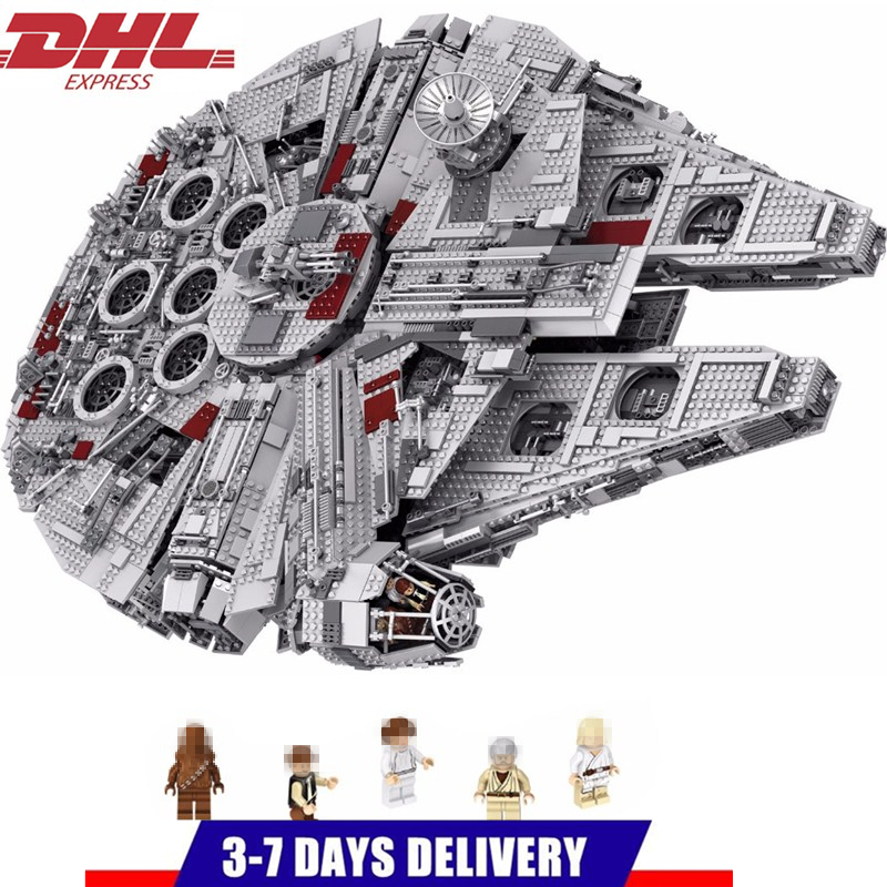 Star Wars millénium Falcon STARWARS blocs de construction ensembles briques modèle classique enfants jouets Marvel Compatible Legoings