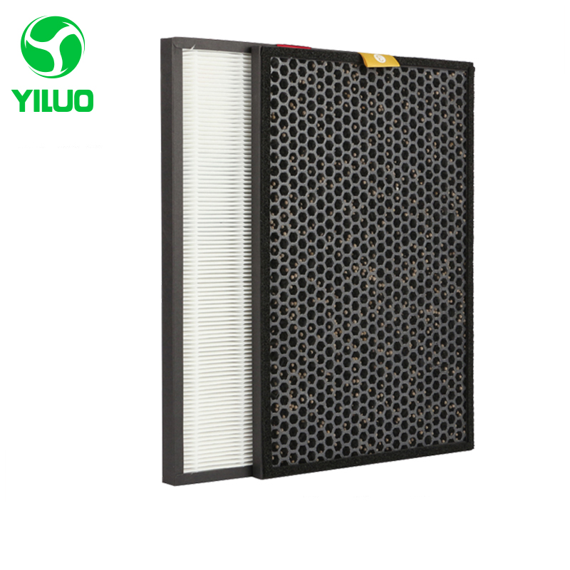 390*270*20mm The HPF35M1120 hepa filter + 390*265*15mm activated carbon filters for JAC35M2101W PAC35M1101W PAC35M2101S цена и фото
