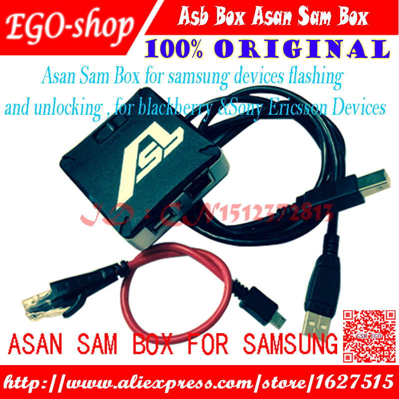 US $67 77 |Newest version ASB Box / AsanSam Box with 2pcs cables for  samsung flashing,for blackberry &Sony Ericsson Devices on Aliexpress com |