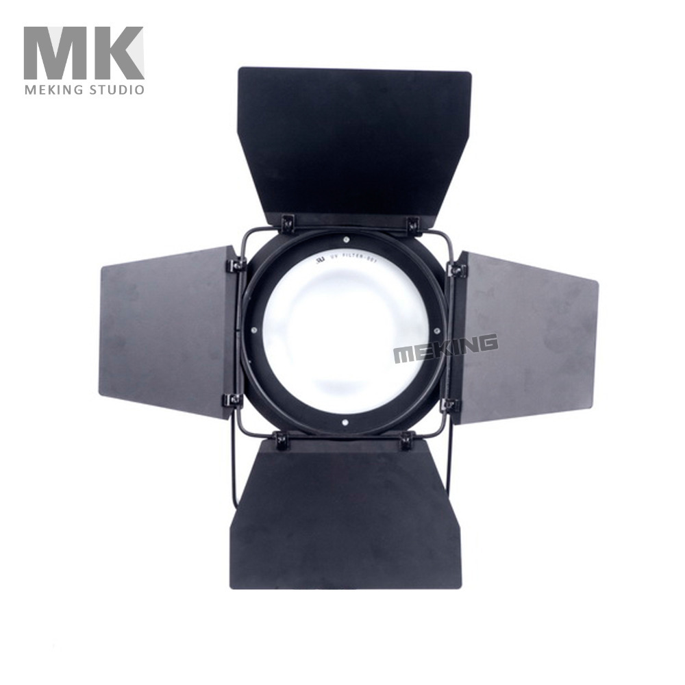 Meking 250w 110v 5600k studio fresnel photography camera video light with bulilt-in...