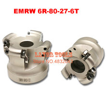 Emrw 6r 80 27 6t торцевая фреза для фрезерования индексируемая