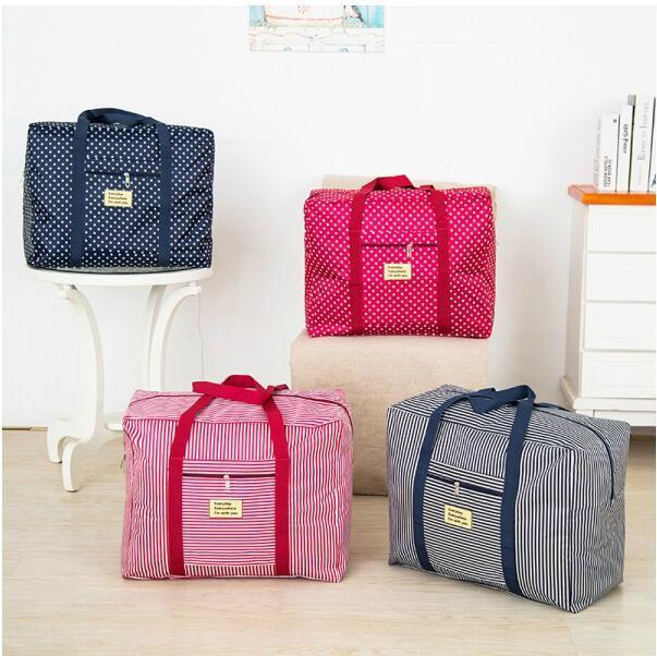 2017 New WaterProof Clothes Bag Suitcase  Unisex Luggage  Duffle Large Capacity Bag Women Folding Handbags (S) Travel Bag