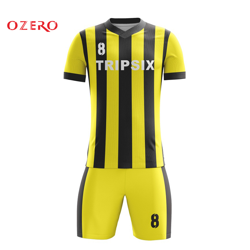reputable site 31b39 87a9f US $140.0 |china imported national team bright black yellow soccer jersey  sets-in Soccer Jerseys from Sports & Entertainment on Aliexpress.com | ...