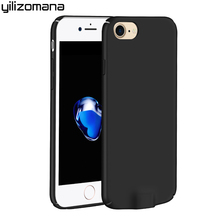 YILIZOMANA QI Wireless Charging Charger Receiver TPU Case Cover Shell for iPhone 6 6S 7 Plus iphone6 6s 4.7 5.5 Inch