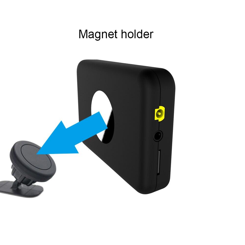 Image 5 - JINSERTA Mini DAB Radio Receiver Colorful TFT Bluetooth FM  Transmitter MCX Antenna 3.5mm Jack Audio Output DAB Tuner Support  TFRadio