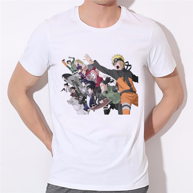 16 Design – New Classic Anime Naruto t shirts