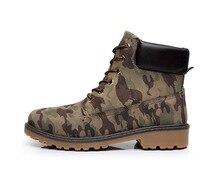 Мужчины сапоги большой размер 39-46 водонепроницаемый зимние сапоги мужчин мартин сапоги черный militar 2016 мода резиновой обуви для охота браун