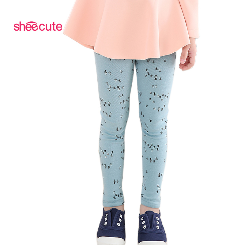 SheeCute leggings new arrive Candy dot girls leggings Småbarn klassiska Leggings 2-13Y barnbyxor barn leggings tjejbyxor