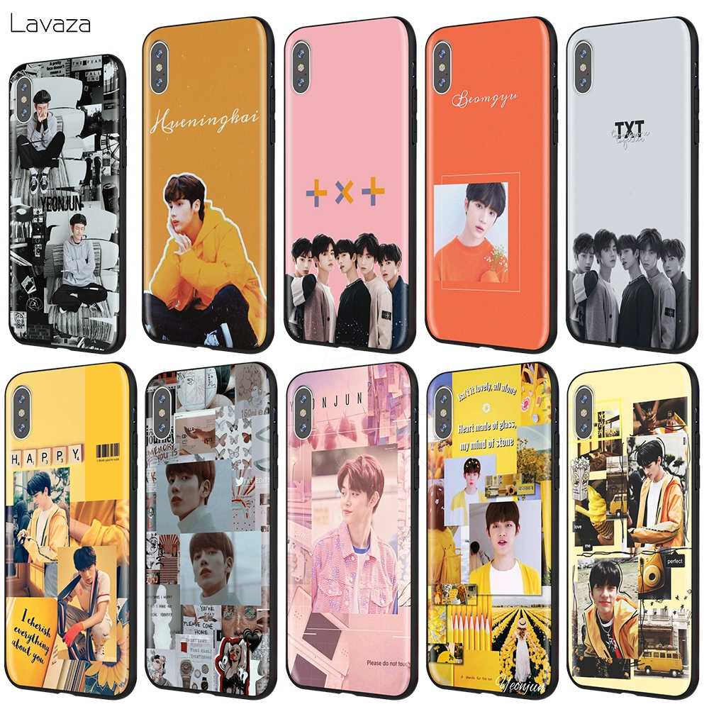 Lavaza TXT พรุ่งนี้ X TOGETHER สำหรับ iPhone 11 Pro XS Max XR X 8 7 6 6S Plus 5 5s se