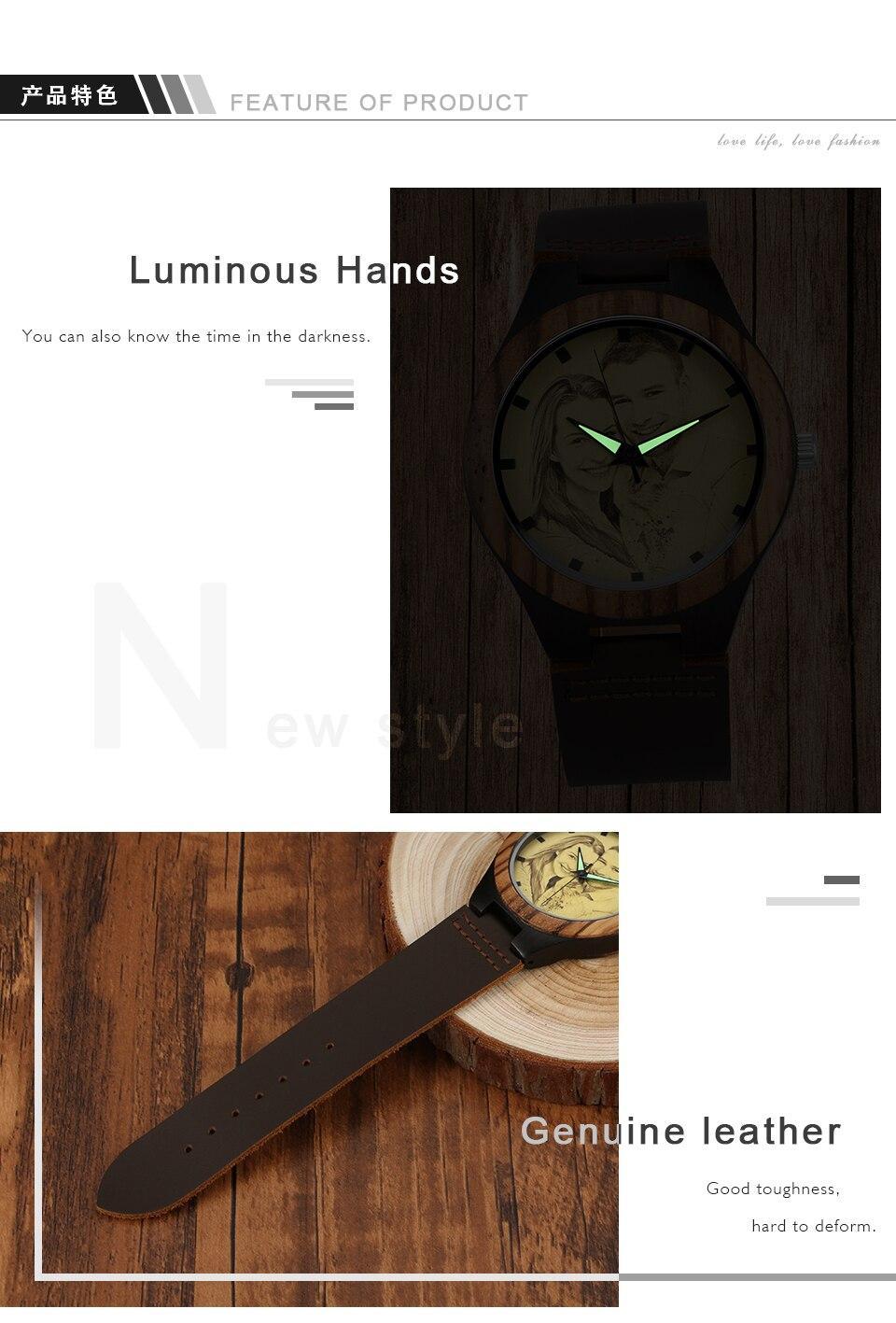 YAZI Relógio Personalizado Relógio de Impressão de