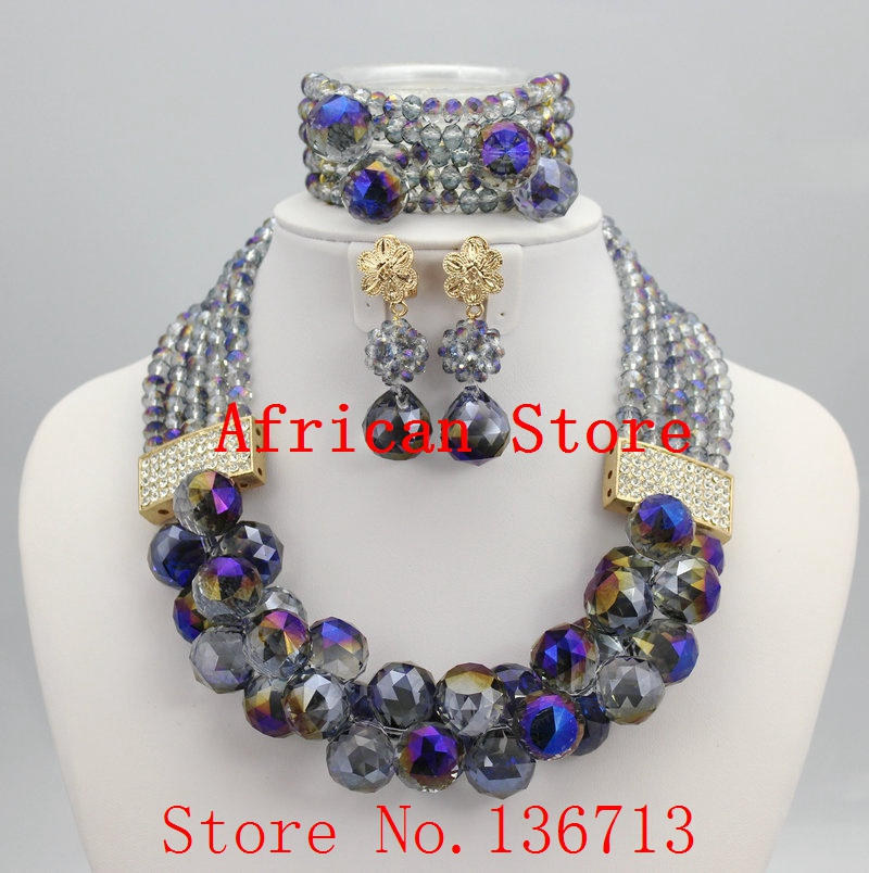 2015 Best Selling Red African Crystal Beads Jewelry Set Nigerian Beads For African Wedding Free Shipping SD502-12015 Best Selling Red African Crystal Beads Jewelry Set Nigerian Beads For African Wedding Free Shipping SD502-1