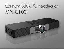 Bben C100 Камера PC stick компьютерные Окна 10 OS Quad Core 2 г/4 г DDR3L Оперативная память 32 г /64 г EMMC USB3.0 Wi-Fi BT4.0 HDMI внутренний немой вентилятор