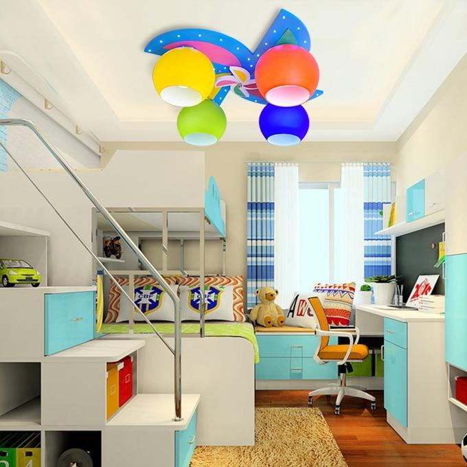 Children toy modern Kindergarten room lights childrens boys and girls bedroom ceiling LED creative cartoon lamp baby ZA ET13