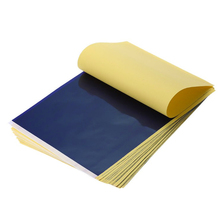 100 Stks/partij Tattoo Transfer Paper Supply Tracing Kopiëren Body Art Stencil Carbon Transfer Papier A4
