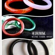 Красивый круглый браслет с натуральными красными зелеными жилами из агата нефрита, элегантные женские браслеты, подарок для милой девушки, хорошее ювелирное изделие, 55-60 мм