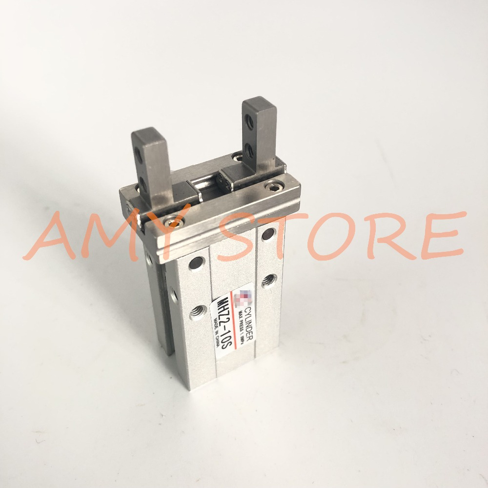 SMC type Pneumatic Parallel Gripper Single Acting Normally Open MHZ2-10SSMC type Pneumatic Parallel Gripper Single Acting Normally Open MHZ2-10S