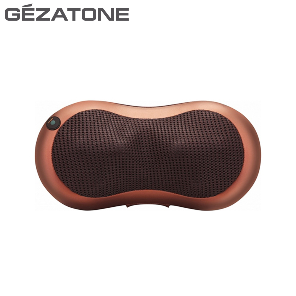 Massage Tools Gezatone 1301198 roller massager muscle tension relief wireless pillow bust breast roller enhancer massager red white