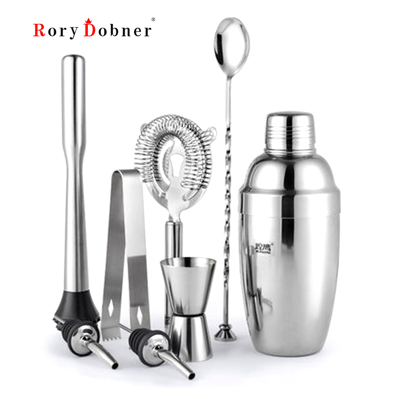 Tail Shaker Stainless Steel Tool Kit Tails Ktv Bar Tools Manual Vacuum Wine Stopper Filter Ice Hammer Spoon Jj022 In Sets From Home Garden