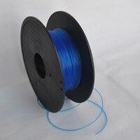Blauw kleur 3d-printer filament pla/abs 1.75mm, 3mm 1 kg groothandelsprijs door dhl en fedex ie gratis verzending