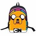 Jovens Homens Star Wars Saco Anime Adventure Time Mochila Para adolescentes Meninos Herói Batman Spiderman Saco Da Escola dos miúdos Sacos Por Dia mochilas