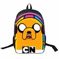 Young Men Star Wars Bag Anime Adventure Time Backpack For Teens Boys Hero Batman Spiderman Bag kids School Bags Daily Backpacks