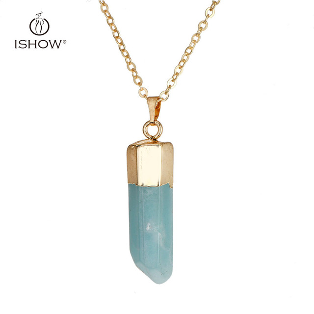 Serenity crystal point necklace copper chain druzy layering serenity crystal point necklace copper chain druzy layering necklaces gold filled stone pendant bijoux femme bohemian aloadofball Choice Image