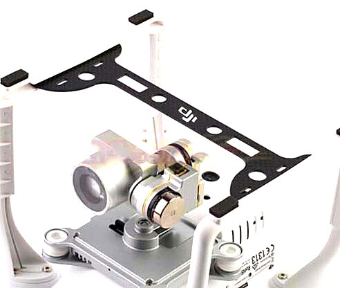 DJI Phantom 3 Landing Protector Plate Glass Fiber Camera & Lens & Gimbal Guard Phantom 3 Accessory