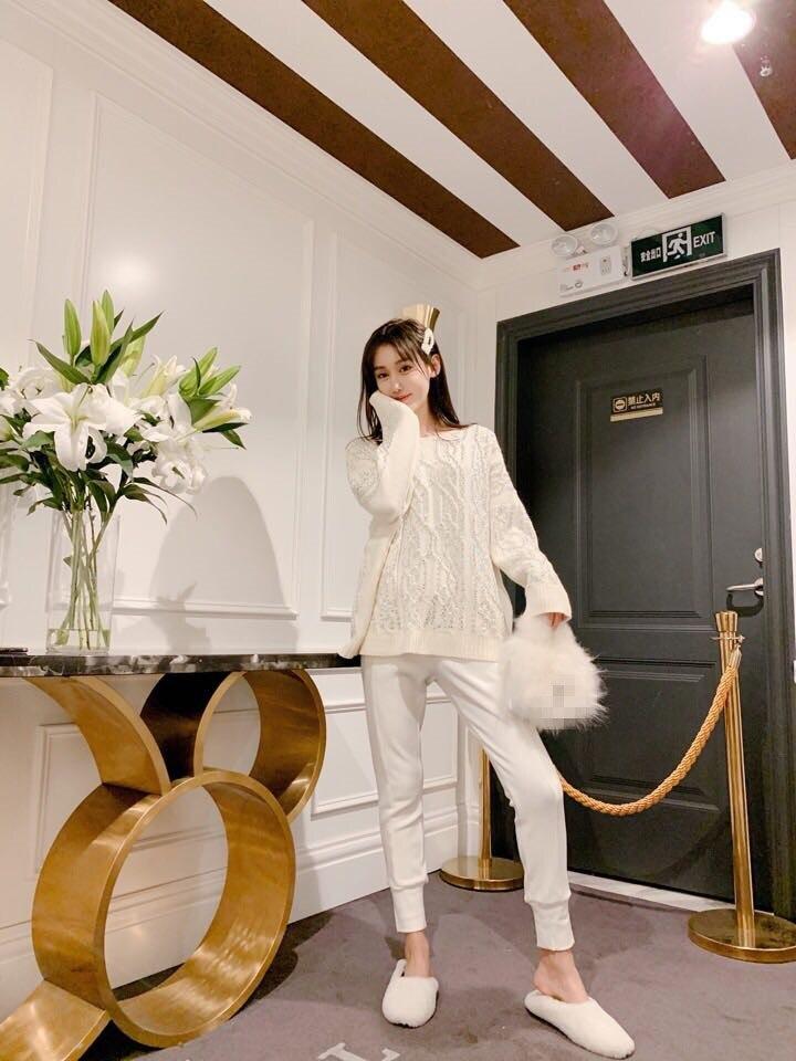 De Suéteres Las Fiesta D01508 2019 Mujeres Ropa Mujer Europeo Pista Marca Moda Estilo Lujo Diseño La TSxWTwH