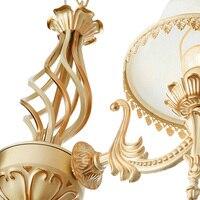Оригинальные винтажные люстры ручной работы Золотой светодио дный светодиодная Люстра Потолочный светильник Новое поступление блеск люст