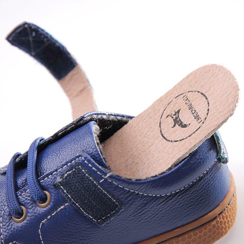 Echt leer kinderen schoenen herfst kinderen casual jongens schoenen - Kinderschoenen - Foto 3