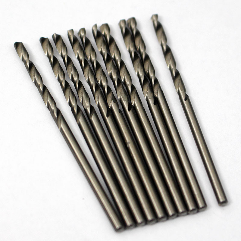 Unihome# 10PCS 3.5mm Micro HSS Twist Drilling Auger Bit For Electrical Drill New Free Shipping