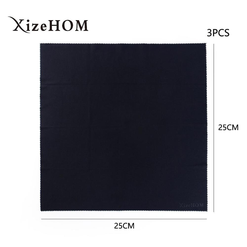 XizeHOM 25*25 см/3 шт. ткань из микрофибры для очков экранов линз IPad планшетов телефонов