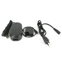 AC Power Adapter + W126 Dummy Batterie DC Koppler + US/UK/AU/EU Stecker für Fujifilm fuji AC V9 Ladegerät Adapter als CP W126 NP W126