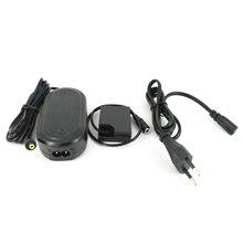 AC 전원 어댑터 + W126 더미 배터리 DC 커플러 + 미국/영국/AU/EU 플러그 Fujifilm Fuji AC V9 충전기 어댑터 CP W126 NP W126
