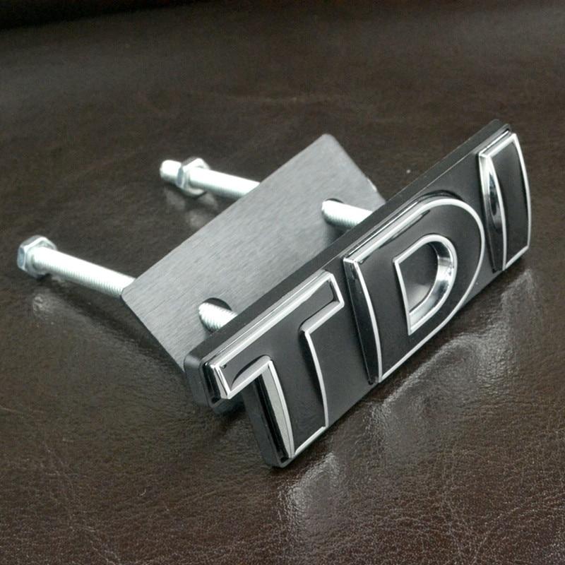 3D 'TDI' Logo Avant De la Voiture Grille Emblème De Voiture fit pour VW 2016 NOUVEAU