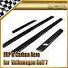 Car Styling For Volkswagen VW Golf 7 GTI TSI Carbon Fiber Door Sill 4pcs