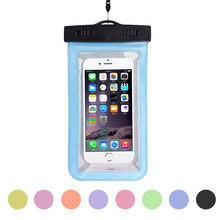 New Travel Swimming Camping Outdoor Hiking Durable Bag Underwater Universal Waterproof Pouch For iPhone 6/6 Plus Cell Phones