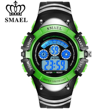 SMAEL Fashion Children Watches Hot Sale Digital Quartz Multifunctional