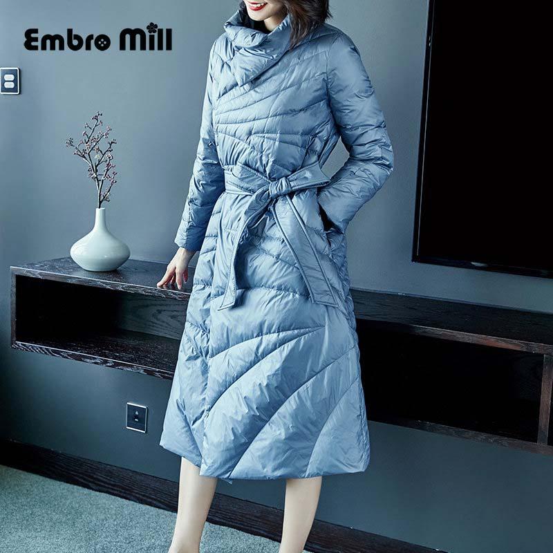 Canard Veste D'hiver xl Vers Vintage Le Au Mince Femmes Bleu De Blanc Et Garder Bas Léger Femelle S Dame Manteau Chaud Parkas Duvet 8nXaWnFqwx