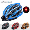 Deemount Bicycle Cycling Helmet MTB Road Bike Male Female Safety Cap Hat Integrally Molded 23 Vents
