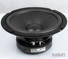 2PCS KASUN MK 830 8 font b Woofer b font Speaker Driver PP Cone Rubber Surround