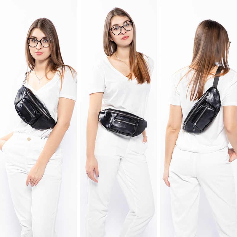 Mais real cinto saco da cintura fanny pack para mulheres à prova d' água saco bolsa cinto de dinheiro de moda moda feminina bolsa de ombro cadeia feminina