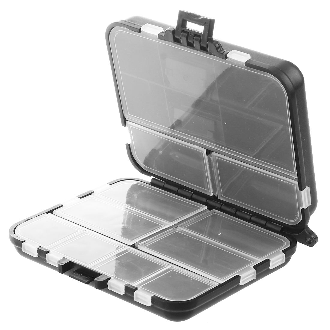 Waterproof Eco-Friendly Fishing Tool Lure Bait Tackle Storage Box Case Container With 26 Compartments